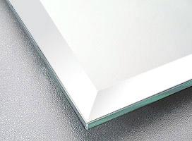 鏡・板鏡:旭硝子の超高精彩ミラー リアリテイア(板厚 5ミリ)