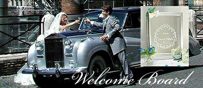 結婚式・ウェデイングのウェルカムボード・ウエルカムボードはアートミラー・ギャラリーへ