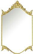 「エレガンス・スタイル」 壁掛け鏡・ウォールミラー:a-2016n