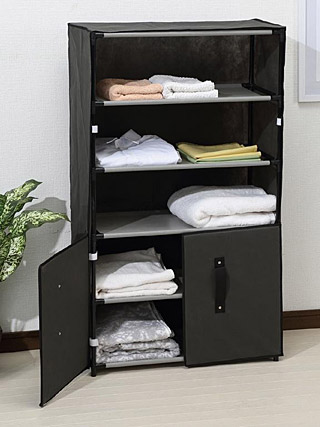 衣料 衣類 衣服の収納、棚、ラック:h5275ir-d