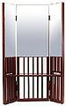化粧鏡・メイクアップミラー・三面鏡・ミラー:22-6109