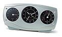 置時計、置き時計、クロック、目覚まし時計(温度計・湿度計)