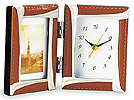 置時計、置き時計、クロック、写真立て、フォトフレーム