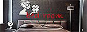 寝室の時計