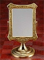 真鍮製・卓上鏡・スタンドミラー「g-6g7070k0」