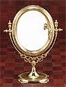 真鍮製・卓上鏡・スタンドミラー「g-6g7070k3」