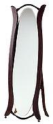 森の家具シリーズ・自立式・姿見・鏡・ミラー(スタンド付き):w565h1600-14kg