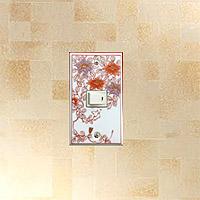 陶磁器・有田焼(伊万里焼)のスイッチプレート、スイッチカバー、コンセントプレート、コンセントカバー