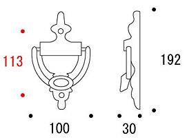 ベル(呼び鈴):g-650020 参考図