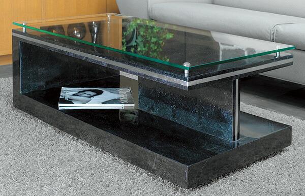 ガラステーブル、センター・テーブル、リビング・テーブル、ロー・テーブル:MaS-7r参考写真