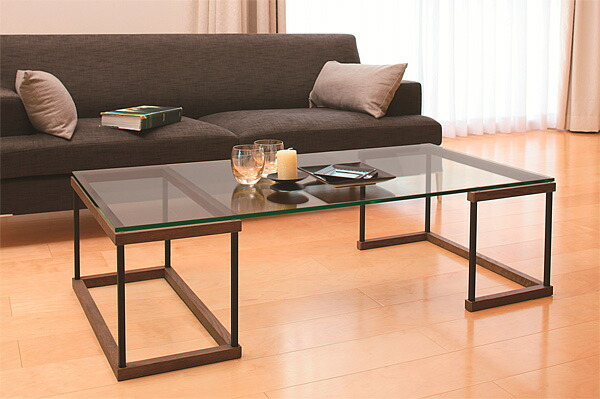 ガラステーブル、センター・テーブル、リビング・テーブル、ロー・テーブル:WaT-1r7参考写真