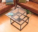 ガラステーブル、センター・テーブル、リビング・テーブル、ロー・テーブル