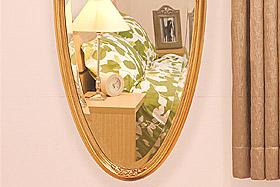 円形・楕円形の姿見・姿見鏡・ミラー