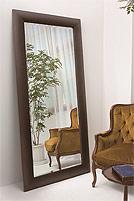 森の家具シリーズ・立て掛け式姿見・ミラー:AaM-53r0