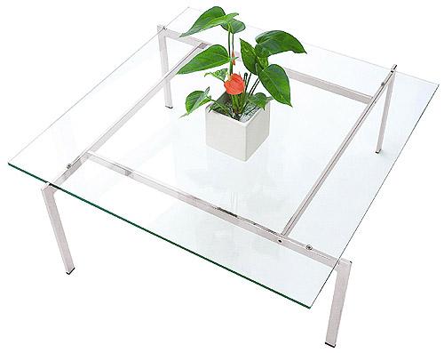 ガラス・テーブル、リビングテーブル、センターテーブル、コーヒーテーブル、ローテーブル「AR-EaC-1r12」