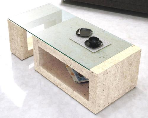 ガラス・テーブル、リビングテーブル、センターテーブル、コーヒーテーブル、ローテーブル「GRTAR-MaS-3r」