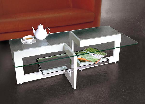 ガラス・テーブル、リビングテーブル、センターテーブル、コーヒーテーブル、ローテーブル「AR-YaG-6r5」