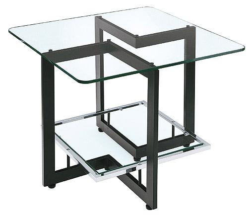 ガラス・テーブル、リビングテーブル、コーヒーテーブル、サイドテーブル「AR-YaG-2r1」