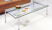 ガラス・テーブル、リビングテーブル、センターテーブル、コーヒーテーブル、ローテーブル「AR-EC-113」