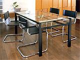 ガラス・テーブル、オフィステーブル、会議机、ダイニングテーブル