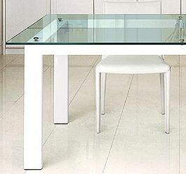 ガラス・テーブル 「 ホワイト(AR-KT-1)」