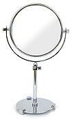 卓上鏡・スタンドミラー・メーキャップミラー・化粧鏡「99126CR」