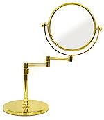 卓上鏡・スタンドミラー・メーキャップミラー・化粧鏡「99137GD」