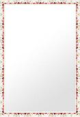 鏡・ミラー・壁掛け鏡・ウォールミラー(特大サイズ):sv1270wh-w722mmxh972mmxd20mm-se参考写真