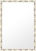 鏡・ミラー・壁掛け鏡・ウォールミラー(特大サイズ):sv1270iv-w722mmxh972mmxd20mm-se参考写真