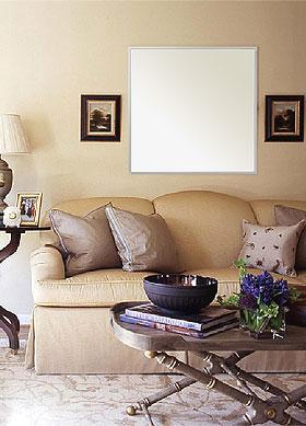 フレームミラー「壁掛け鏡(ミラー)ステンフレーム・シリーズ」参考写真