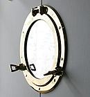 鏡・ミラー・壁掛け鏡・ウォールミラー:dc405cr-w535mmxh636mmxd30mm-se