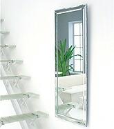 ノーフレームミラー:壁掛け姿見・姿見鏡