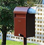 スタンド式ポスト:郵便受け・郵便ポスト