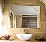 洗面所に設置された鏡