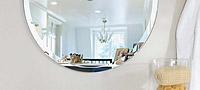 防湿鏡、洗面鏡、風呂鏡、円形、楕円形、八角形