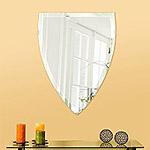 鏡のクリスタルカット(面取り加工)18mm