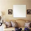 この壁掛け鏡はネジの効く壁とネジの効かない石膏ボード壁に対応