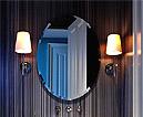 おしゃれな洗面鏡、浴室鏡、化粧鏡、風呂鏡、浴室鏡、トイレ鏡(防湿鏡)(国産、最高品質)