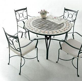 ガーデン・テーブル&イス(石・ストーン)