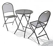 ガーデン・テーブル&チェアー(椅子・イス) セット:sTsn-s0S1