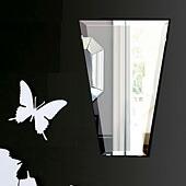 壁掛け鏡・ウオールミラー:<br>フレームレスミラー・シリーズ、こだわりタイプ(ユニークな形状)(国産)