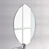 壁掛け鏡・ウオールミラー:フレームレスミラー・シリーズ、こだわりタイプ(ユニークな形状)(国産)