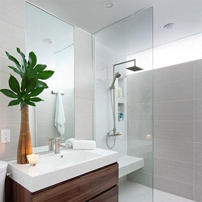 洗面鏡・トイレ鏡・化粧鏡・浴室鏡:ステンフレーム・シリーズ 上下2方フレーム