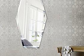 壁掛け鏡・ウォールミラー:クリスタルミラー・シリーズ こだわりタイプ