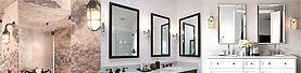 洗面鏡に合う照明器具、ライト