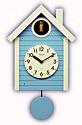 掛時計、掛け時計、壁掛け時計、子供、キッズ、お子様向け時計、鳩時計、振り子時計