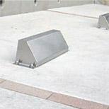 車止め(車止めブロック、パーキングブロック、カーストッパー):SoV2-KRU04oA/C