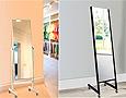 業務用・店舗用の鏡 キャスター付き姿見鏡:鏡の卸販売、鏡の卸売り、鏡のB2B、鏡の業販