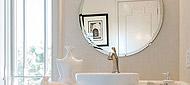 防湿鏡、洗面鏡、風呂鏡、四角形