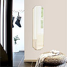 壁掛け姿見:全身を映して身嗜みアップに役立つ壁掛け姿見。玄関、洗面所やリビングルームに設置して便利です